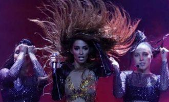 Eurovision: Η «καυτή» πρόβα της Ελένης Φουρέιρα (βίντεο)