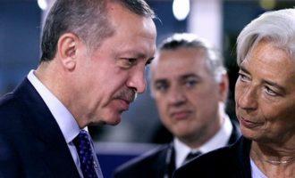 Θα πέσει η Τουρκία στην «αγκαλιά» του ΔΝΤ; – Τι ακούγεται για τις… διαθέσεις του Ερντογάν