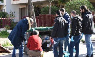 30χρονη πέταξε το νεογέννητο μωρό της σε κάδο στο Αίγιο