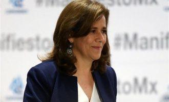 """Απέσυρε την υποψηφιότητά της η πρώην """"πρώτη κυρία"""" του Μεξικού"""
