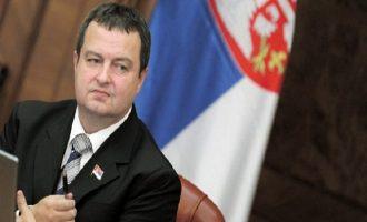 Ιβιτσα Ντάτσιτς: Το Κόσοβο δεν θα γίνει μέλος διεθνών οργανισμών με τη βία