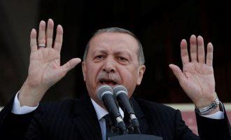 Ερντογάν: Θα ξεκινήσουμε την επιχείρηση την Τρίτη αν δεν τηρηθεί η συμφωνία