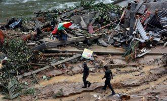 """Τουλάχιστον 112 νεκροί από πλημμύρες που """"πνίγουν"""" την Κένυα"""