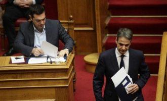 Στη βάσανο της Βουλής η ΝΔ: Μπαράζ νόμων για μέτρα ελάφρυνσης φέρνει ο Τσίπρας