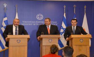 Ελλάδα-Κύπρος-Ισραήλ μαζεύονται στη Λάρνακα για να συντονίσουν τις κινήσεις τους
