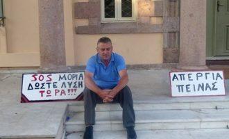 Σταμάτησε την απεργία πείνας ο δήμαρχος της Μόριας για την αποσυμφόρηση του hotspot