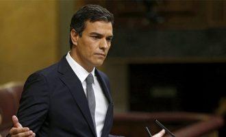 Ισπανία: Ο Σάντσεθ απέρριψε τις προτάσεις Ιγκλέσιας – Συνεχίζεται η ακυβερνησία