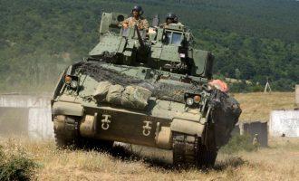 Τραυματίστηκαν Έλληνες στρατιώτες μέσα σε άρμα μάχης στην Κύπρο
