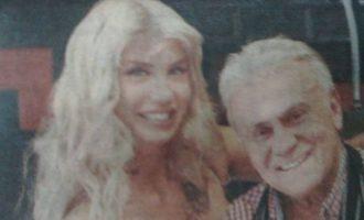 Ο Παναγιώτης Ψωμιάδης αγκαλιά με Ελληνίδα πορνοστάρ στη Θεσσαλονίκη