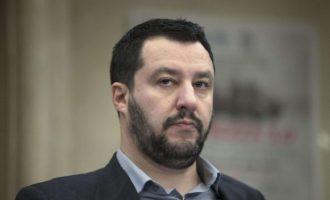 Η ιταλική Γερουσία είπε «Όχι» στην άρση ασυλίας του Σαλβίνι
