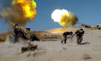 Ο συριακός στρατός βομβάρδισε θέσεις των τζιχαντιστών στα νότια του θύλακα της Ιντλίμπ