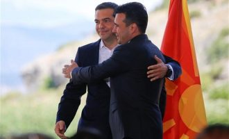Επίσημα υποψήφιοι για το Νόμπελ Ειρήνης 2019 Τσίπρας και Ζάεφ