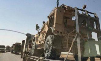 Μεγάλο φορτίο όπλων παρέδωσαν οι Αμερικανοί στις SDF στην ανατολική Συρία