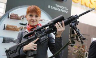 Η Ρωσίδα «Μάτα Χάρι» Μαρία Μπουτίνα είχε επαφές με Αμερικανούς αξιωματούχους και το λόμπι της οπλοφορίας