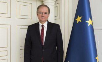 Ο πρέσβης της ΕΕ στην Τουρκία επισκέφθηκε Κούκλατζη-Μητρετώδη – Μίλησαν πάνω από δύο ώρες