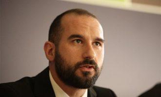 Δημήτρης Τζανακόπουλος: Ο Μητσοτάκης «παρακολούθημα» της Χρυσής Αυγής