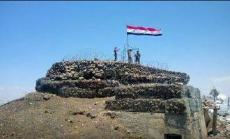 Ο συριακός στρατός πήρε από τους τζιχαντιστές το πιο στρατηγικό ύψωμα στη νοτιοδυτική Συρία