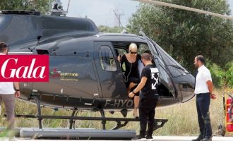 «Λιώνει» για την Καλογρίδη ο Λυκουρέζος – Την κυκλοφορεί ακόμα και με ελικόπτερο