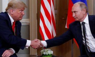 """""""Βέτο"""" Δημοκρατικών: Να μην ξαναδεί ο Τραμπ τον Πούτιν μέχρι να μάθουμε τι συνέβη στο Ελσίνκι"""