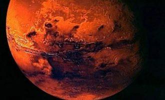 Ιστορική ανακάλυψη στον πλανήτη Άρη – Τι βρήκαν αστροφυσικοί