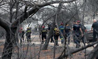 Χάθηκε άλλη μια ζωή από τη φονική πυρκαγιά: Κατέληξε 63χρονος εγκαυματίας