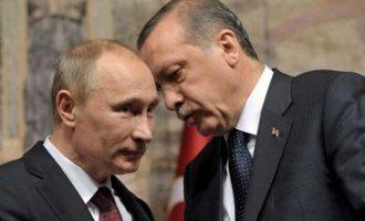 Τι ανακοίνωσε το Κρεμλίνο για τη συνάντηση Πούτιν-Ερντογάν τη Δευτέρα