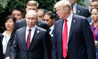 Ρώσος αξιωματούχος «βλέπει» πιθανή συνάντηση Τραμπ και Πούτιν – Τι είπε