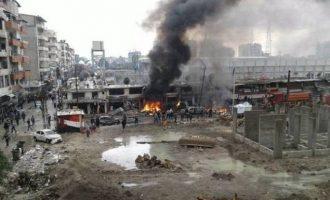 Το Ισλαμικό Κράτος πραγματοποίησε βομβιστική επίθεση αυτοκτονίας στη Νταράα της Συρίας