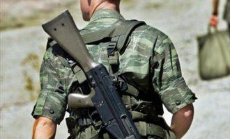Αυτοτραυματίστηκε επαγγελματίας οπλίτης στη Λέσβο