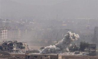 Τουλάχιστον 28 άμαχοι νεκροί σε αεροπορικές επιδρομές στην Ντέιρ αλ Ζουρ στη Συρία