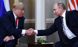 Τι είπε ο Τραμπ μετά την συνάντησή του με τον Πούτιν στο Ελσίνκι