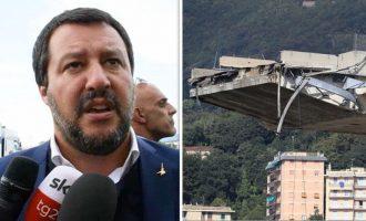 Γένοβα: Πάνω από 35 οι νεκροί από την πτώση γέφυρας – Γιατί ο Σαλβίνι επιτέθηκε στην ΕΕ