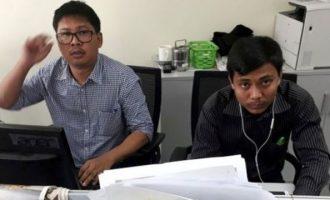 «Πάγος» στην απόφαση για τους δημοσιογράφους του Reuters που κρατούνται στη Μιανμάρ