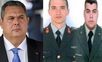 Βόμβα Καμμένου: Με εντολή Ερντογάν η σύλληψη των δύο Ελλήνων