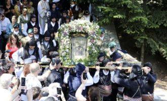 Γιορτάζει με την Παναγία Σουμελά σύσσωμος ο ποντιακός ελληνισμός