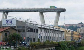 Θα κατεδαφιστεί για λόγους ασφαλείας και η υπόλοιπη γέφυρα στη Γένοβα