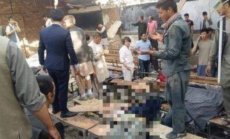 Το Ισλαμικό Κράτος ανέλαβε την ευθύνη για την επίθεση αυτοκτονίας σε σχολείο στην Καμπούλ