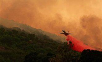 Πολύ υψηλός κίνδυνος πυρκαγιάς το Σάββατο σε πολλές περιοχές της χώρας