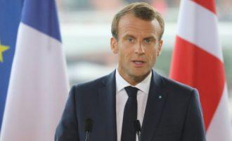 Άμεση στρατιωτική απάντηση ζητά ο Μακρόν αν δεχτεί ένοπλη επίθεση χώρα της Ε.Ε.