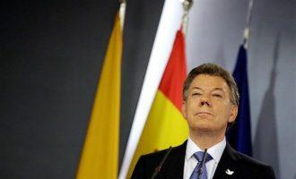 Ο απελθών πρόεδρος της Κολομβίας αναγνώρισε παλαιστινιακό κράτος