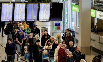 Ξαφνικό πρόβλημα καθηλώνει τα αεροπλάνα σε αεροδρόμιο στο Άμστερνταμ