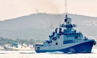 Ρωσικός Στόλος πέρασε τον Βόσπορο και πλέει προς την Ανατολική Μεσόγειο