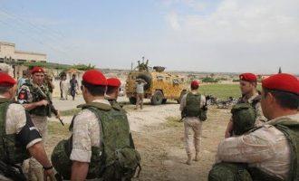 Ο ρωσικός στρατός ανέλαβε τη φύλαξη της Γραμμής μεταξύ Συρίας και Ισραήλ στα Υψίπεδα του Γκολάν