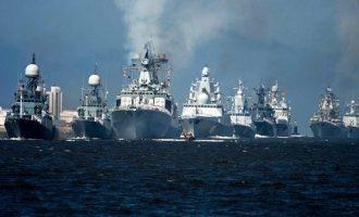 Η Ρωσία ανακοίνωσε μεγάλες ναυτικές ασκήσεις στη Μεσόγειο