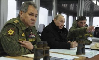 Η Ρωσία ανακοίνωσε ότι «εξαπολύει» τη μεγαλύτερη στρατιωτική άσκηση μετά το 1981