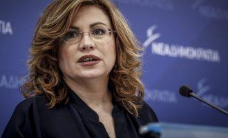 Σπυράκη: Η ΝΔ δεν θα προτείνει Βενιζέλο ή Σημίτη για πρόεδρο της Δημοκρατίας