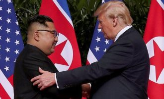 Ντόναλντ Τραμπ για Κιμ Γιονγκ Ουν: «Η σχέση είναι πολύ καλή, όμως υπάρχει κάποια εχθρότητα»