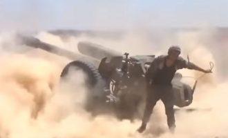 Οι πολιορκημένοι τζιχαντιστές στο όρος Αλ Σάφα αντεπιτέθηκαν στον συριακό στρατό και τον ανάγκασαν να υποχωρήσει
