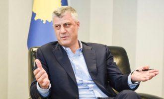 «Διόρθωση» των συνόρων Κοσόβου και Σερβίας θέλει ο Χασίμ Θάτσι – Θα φέρει ειρήνη ή πόλεμο;