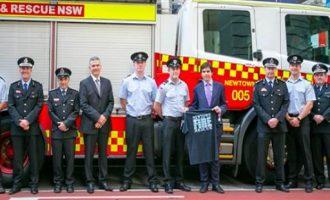 Αυστραλοί πυροσβέστες κάνουν έρανο για τους πυρόπληκτους της Αττικής